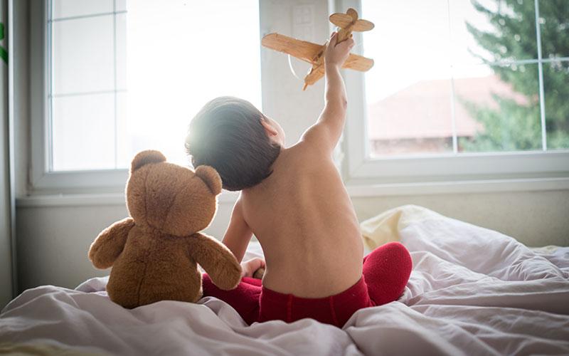 prvi krevet za dete